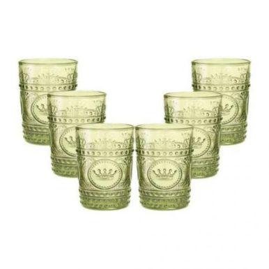 copos coloridos - copos verde oliva