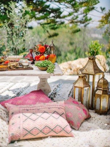 Inspiração marroquina