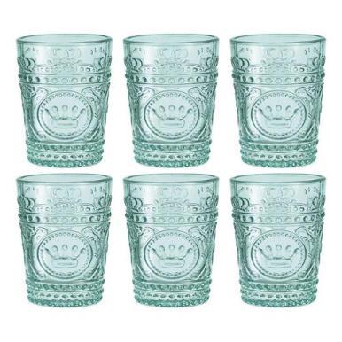 copos coloridos - copo azul