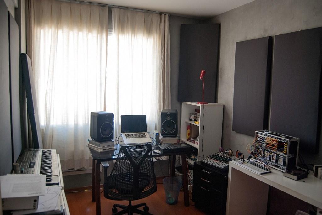 tratamento acustico home studio