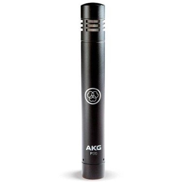 microfone condensador cápsula pequena akg p170