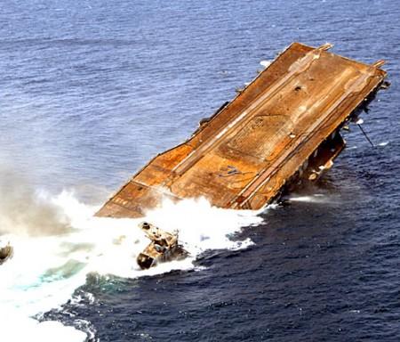 Sinking of the USS Oriskany