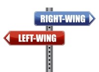 right wing and left wing