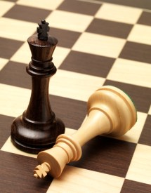 There are winners at chess.