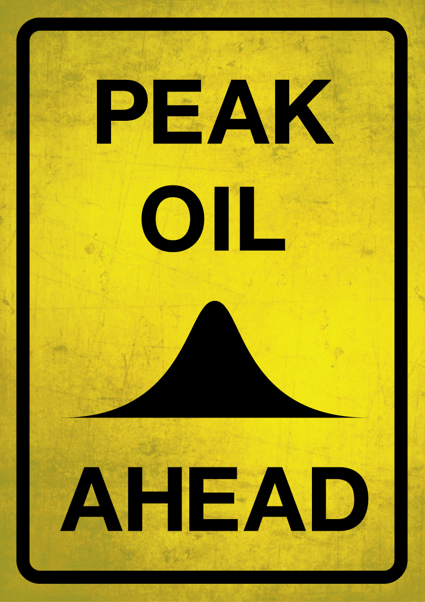 Peak Oil warning sign