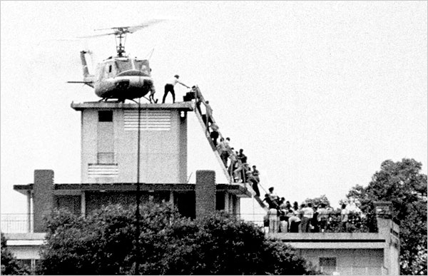 The last copter our of Vietnam.