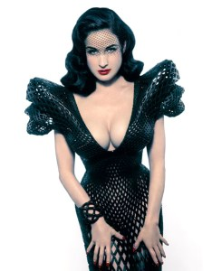 3D-printed dress for Dita Von Teeseby Michael Schmidt & Francis Bitonti
