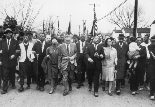 CIvil Rights March in Summer 1963