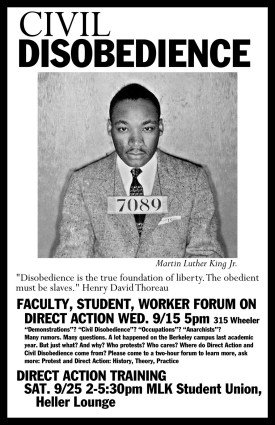 Martin Luther King's Civil Disobedience