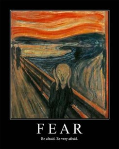 Fear by Van Gogh