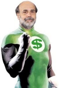 Bernanke Green Lantern