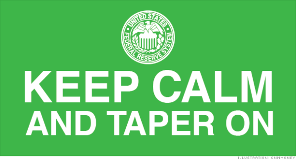 Keep calm and taper on