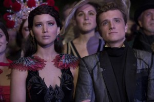 Catching Fire: Jennifer Lawrence & Josh Hutcherson