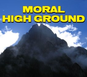 The Moral High Ground