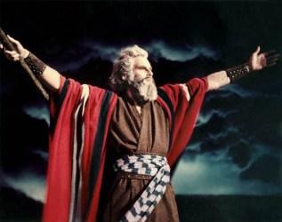"""Moses in """"THE TEN COMMANDMENTS"""" 1956"""