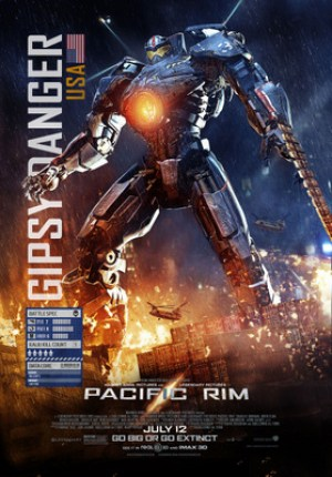 Gypsy Danger in Pacific Rim