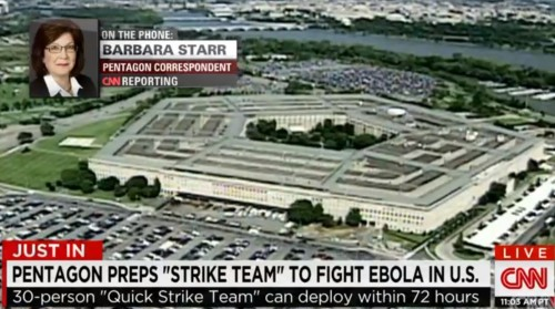 "CNN on Pentagon ""quick response teams"""