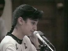 Nayirah testifying
