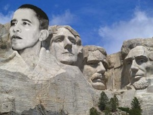 Obama on Rushmore
