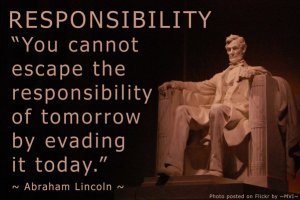 Lincoln on Responsibility