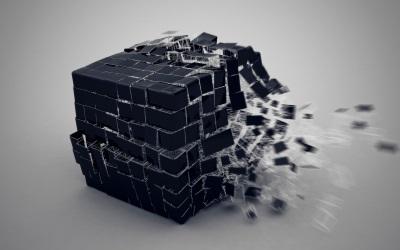 3D-Broken Cube