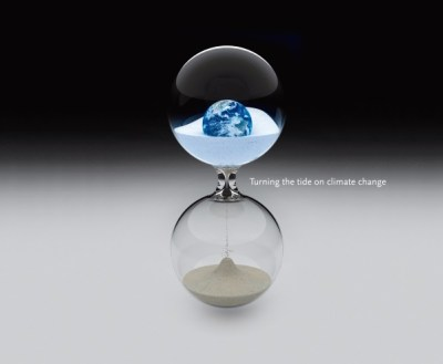 """Cover of """"Turning the Tide On Climate Change"""" by Robert Kandel"""
