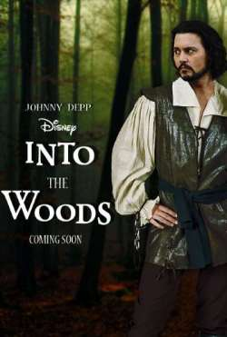 Into the Woods: Johnny Depp as Wolf