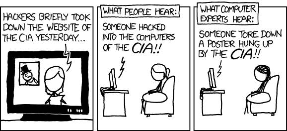 XKCD: hacking the CIA