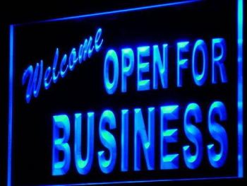 Welcome: Open For Business