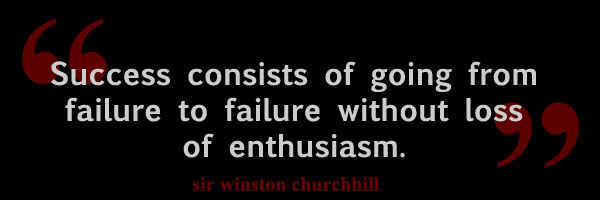 Fake Churchill about success