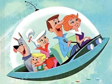 The Jetsons: a 1950s family of the future.
