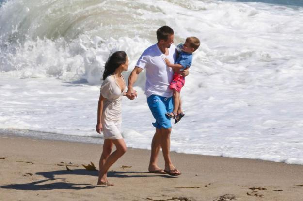 Paul Walker as Brian O'Connner and family