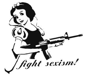 Snow White fights sexism