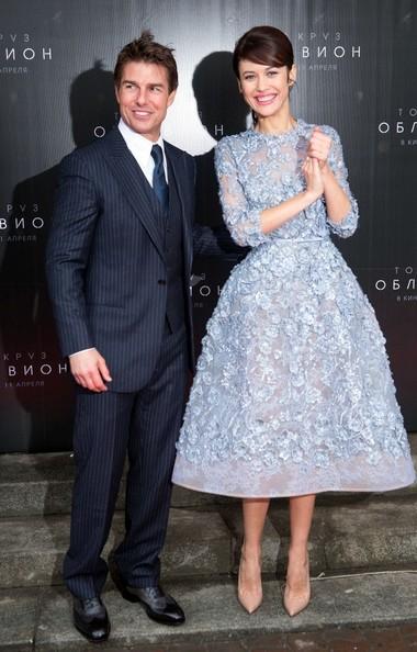 Tom Cruise and Olga Kurylenko