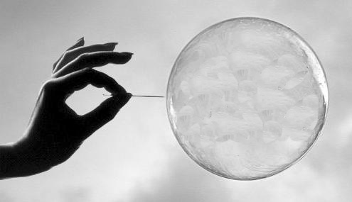 Popping the bubble