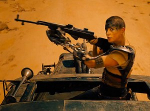 Charlize Theron as Imperator Furiosa in Mad Max: Fury Road