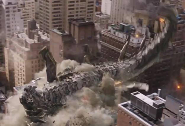 Destruction of NYC.