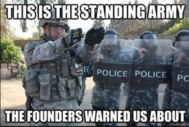 Police are our Standing Army