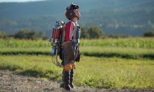 "Thomas Robinson as Young Frank Walker in ""Tomorrowland"""