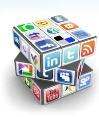 Social media cube