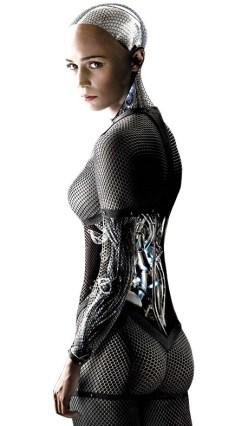 "Alicia Vikander as Ava in ""Ex Machina"""