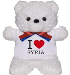 """I love Syria"" Teddy Bear"