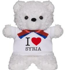 """I love Syria"" Teddy Bear"