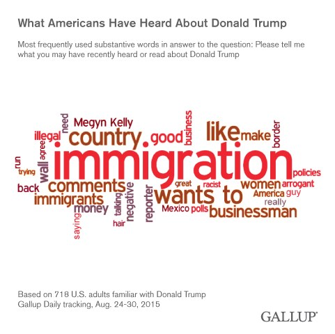 Gallup: American's impressions of Donald Trump