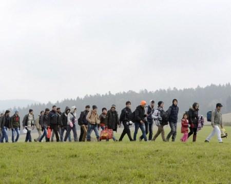 Migrants to Germany.