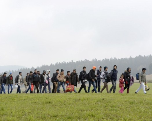 Migrants to Germany.