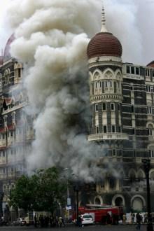 Taj Mahal hotel in Mumbai, India on 29 Nov 2008. REUTERS/Arko DattaCorbis.