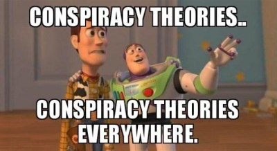 Conspiracy theories everywhere