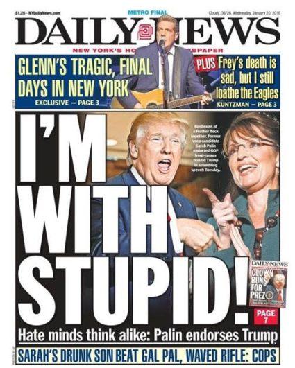 Donald Trump and Palin