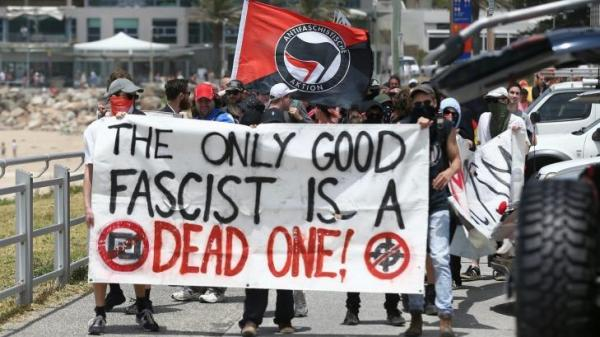 AntiFascist march